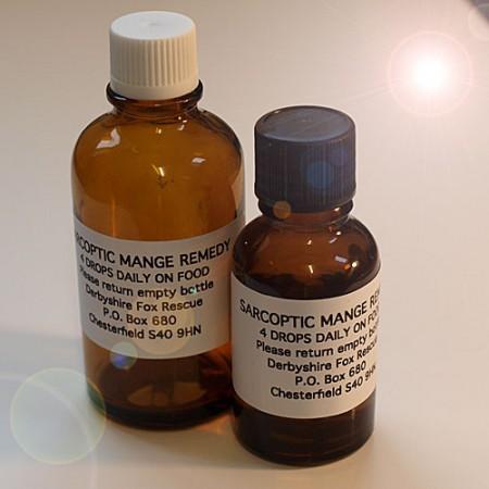 Sarcoptic Mange remedy 50ml